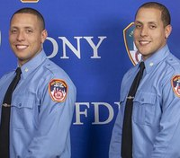 Twin brothers graduate FDNY academy as EMTs