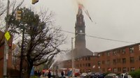 Video: Church fires present unique collapse zone dangers