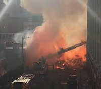 1 FF still hospitalized after LA explosion injures 11