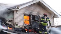 2 Long Island FFs injured in explosion, multi-home fire