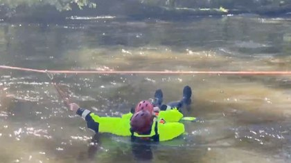 Water rescue: How to employ the tensioned diagonal system