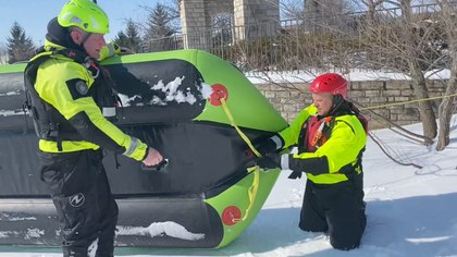 Video: Soft ice encounters – alternative approaches for fire crews