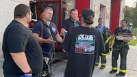 Tow trucks honor NY first responders with delivery of food and drink