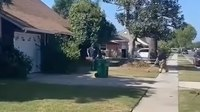 Calif. first responders finish yard work after man, 93, collapses