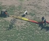Hot air balloons land hard, cause several injuries in NM