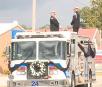 Hundreds gather to honor SC firefighter killed by semi-truck