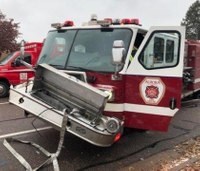 4 Colo. firefighters hurt in fire truck crash