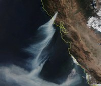 Photos: Calif.'s destructive Kincade Fire seen from space