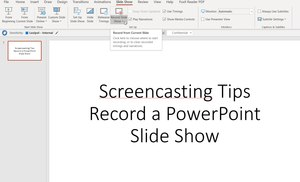 There are lots of tools for recording and distributing a screencast.