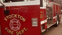 Officials: Calif. man hit firefighters, attempted to steal fire truck