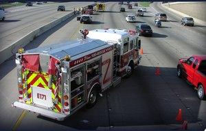 Whether responding to a structure fire, a brush fire or a medical assist, our personnel and apparatus are exposed to the danger of being hit by vehicles operated by drowsy, distracted, drugged or just plain dangerous drivers.