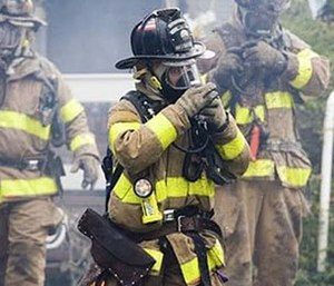 Firefighting hoods are being developed to be a key component of standard firefighting gear.