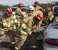 Training Day: Extrication on an embankment