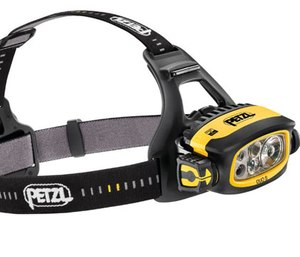 The DUO S is powered with 1100 lumens in BOOST mode and features five lighting modes. (Photo/Petzl)