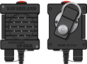 The Liberator Spark Remote Speaker Microphone is a stand-alone primary radio communication system. (Photo/Safariland)