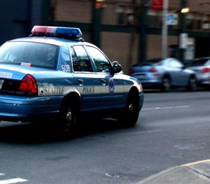 A Seattle Police car on patrol. (Wikimedia Commons)