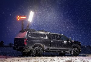 All Command Light towers deploy in less than 15 seconds with the push of a button. (Courtesy photo)