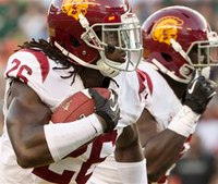 USC's cornerback Shaw leaps from 2nd story to save drowning nephew