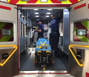 In one of Burton's examples, EMS providers responded to a 70-year-old male who was experiencing back pain after a fall.