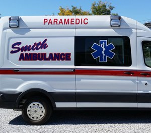 Under the proposal from Bob Smith of Smith Ambulance, the cost of ambulance service would not increase through the end of January. (Photo/Smith Ambulance)