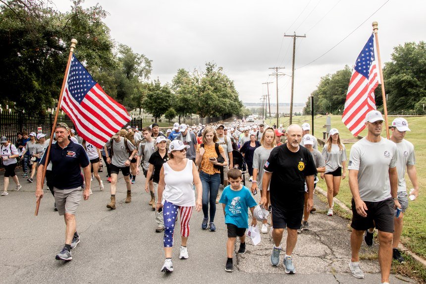 Frank Siller is making a 500+-mile trek from the Pentagon to Shanksville to New York City, ending at One World Trade Center.
