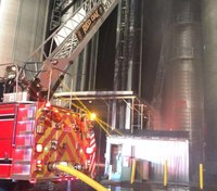 Photo of the Week: Red Oak Community Rural Fire Department responds to silo fire