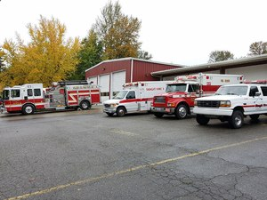 Firefighters in Skagit County, Washington, who remain unvaccinated would be allowed to respond only to fire calls and not to medical aid calls.