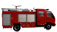 Are American fire trucks too big?