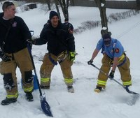 After man dies shoveling roof, Conn. emergency responders finish job