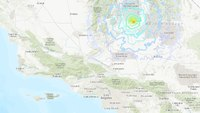 SoCal firefighters respond to dozens of calls following 6.4-magnitude earthquake