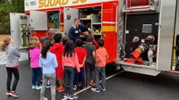 Photo of the Week: Kids learn about fire safety during Fire Prevention Week