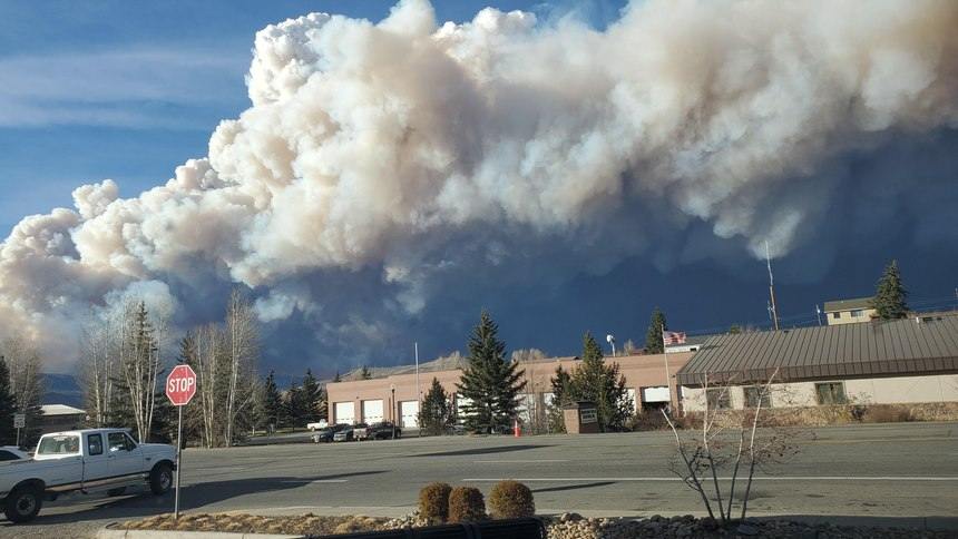 The fire traveled 17 miles in 90 minutes. And it was headed straight for the Town of Grand Lake.