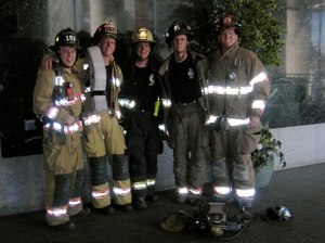 There were five of us that first day – three from the Denver Fire Department and two from the Castle Rock Fire and Rescue Department.