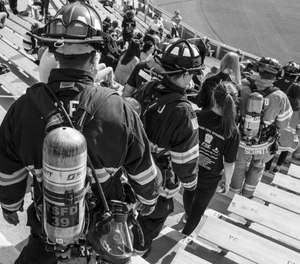 Pierce Manufacturing announced that the eight annual 9/11 Memorial Stair Climb at Lambeau Field, co-sponsored by the Green Bay Metro Fire Department, will be held as a virtual fundraiser due to COVID-19. (Photo/Pierce Manufacturing)