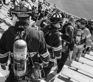 Pierce Manufacturing announced that the eight annual 9/11 Memorial Stair Climb at Lambeau Field, co-sponsored by the Green Bay Metro Fire Department, will be held as a virtual fundraiser due to COVID-19.