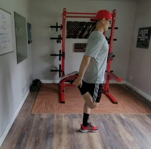 Performing the standing quads stretchcan help improve the flexibility in your hip flexors and quadricep muscles.