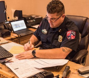 Who provides wisdom to the newly promoted supervisor, middle manager, or police executive?