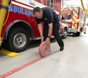 Since the majority of a firefighter's daily tour of duty is spent wearing station work boots, selecting the proper work boots and properly caring for them will help make for happy feet. (Photo/Tina Gianos)