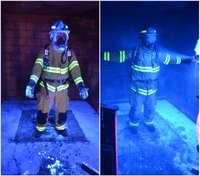 PPE preliminary exposure reduction for firefighters