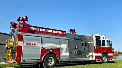Big water for the industrial firefighter: A pump innovation makes for farther, faster water