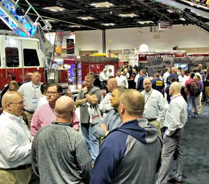 Meeting with apparatus manufacturer representatives at trade shows doesn't have to be a daunting task if you do your homework and prepare questions in advance. (Photo/Sutphen Corporation)