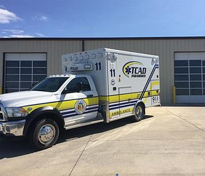 The standardized TCAD ambulance. (Photo/TCAD Paramedics)