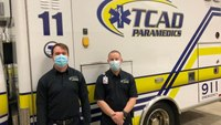Mo. paramedics rescue unconscious driver from burning vehicle