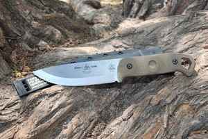 TOPS Knives product, the Brakimo knife (Photo/Sean Curtis)