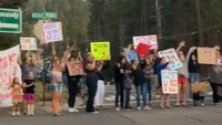 Watch: Crowd cheers crews in South Lake Tahoe as Caldor Fire reaches 68% containment