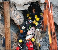 Rescuers pull survivors from Taiwan earthquake rubble