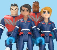 Mattel creates EMT, doctor, nurse action figures; sales benefit first responder fund
