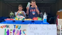 Photo of the Week: 'Thank you, heroes'