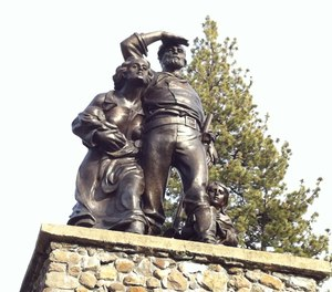 The circumstances that led to the Donner Party's tragic outcome provide some key lessons for anyone who must manage groups that are facing difficult situations, including fire officers. (Photo/Wikimedia Commons)