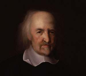 Life in a world without police would be as Thomas Hobbes described: nasty, brutish, and short. (Image by John Michael Wright, via Wikimedia Commons)